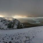 Ben Nevis, a Winter panorama